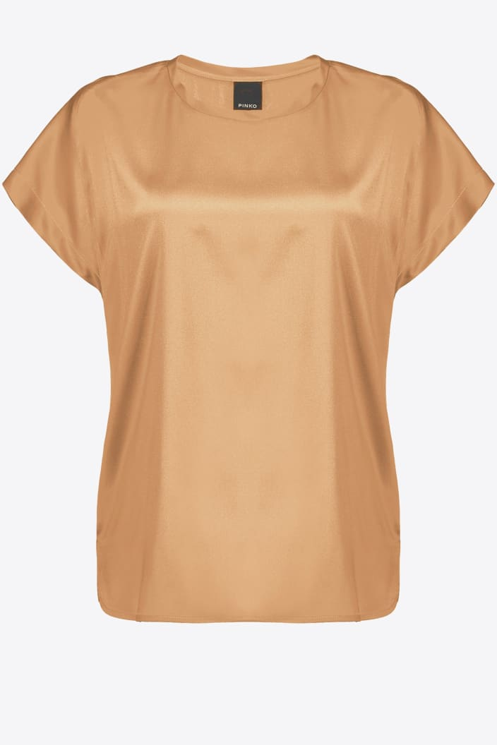 SHOPPING ON LINE PINKO  BLUSA  IN STIN STRETCH FARIDA 2 NEW COLLECTION WOMEN'S FALL/WINTER 2022