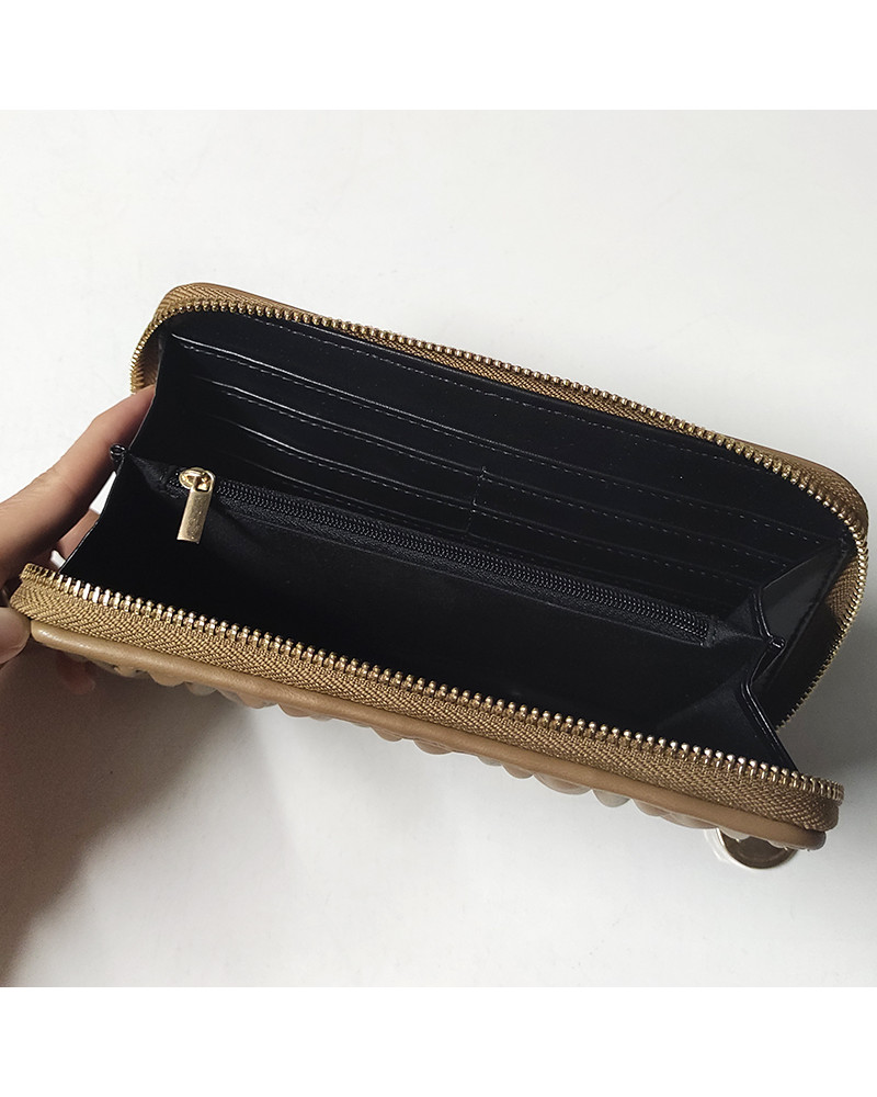SHOPPING ON LINE LE PANDORINE CRIS WALLET SOGNAMI NATURAL NEW COLLECTION WOMEN'S FALL/WINTER 2022