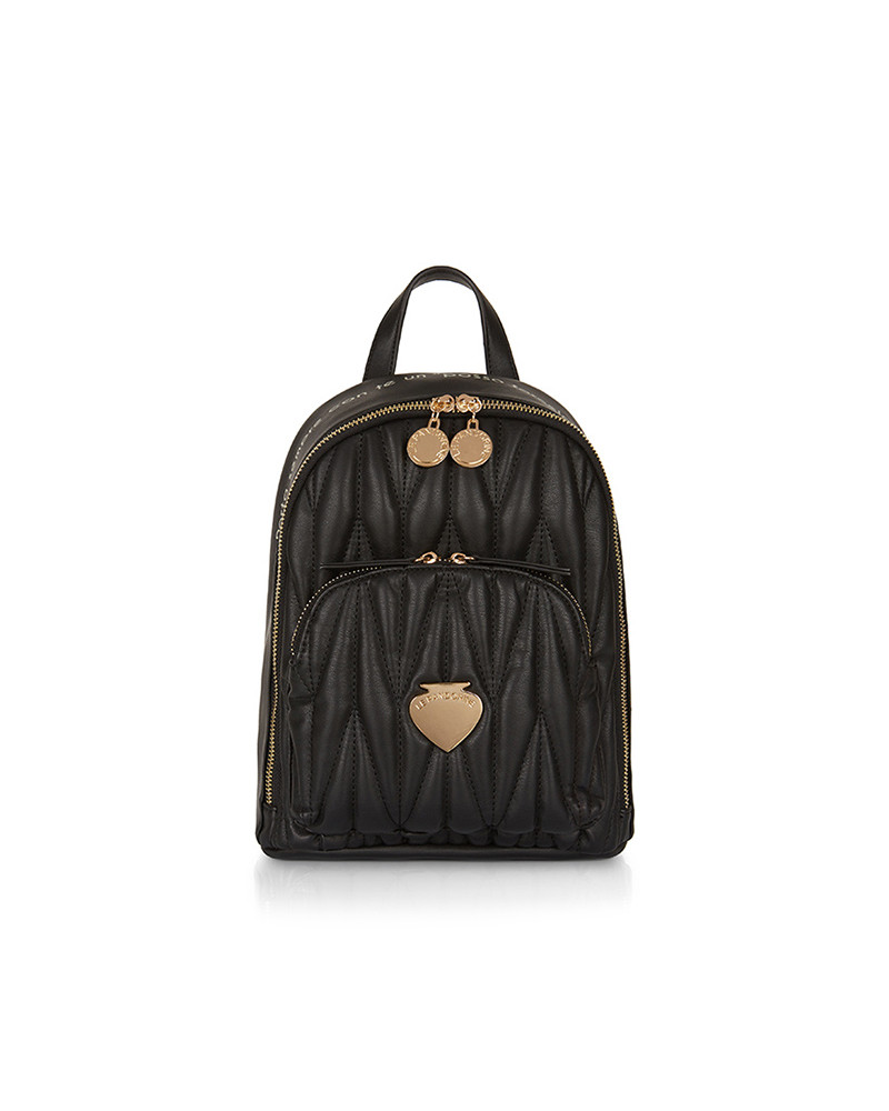 SHOPPING ON LINE LE PANDORINE MINI BACKPACK RISERVA BLACK NEW COLLECTION WOMEN'S FALL/WINTER 2022