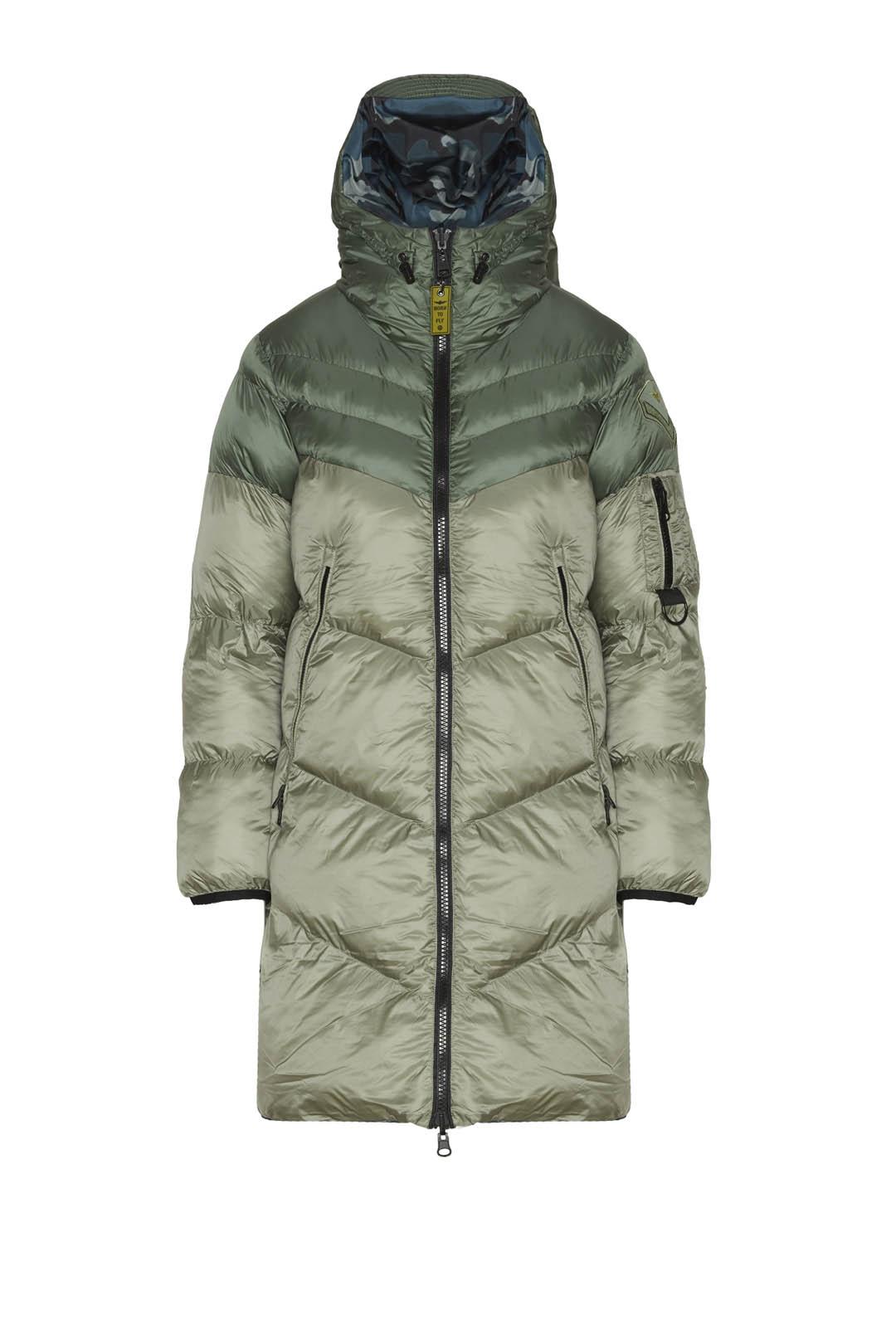 Reversible hooded jacket                 1