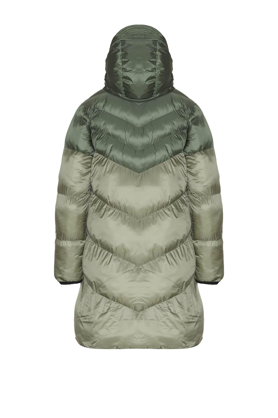 Reversible hooded jacket                 2