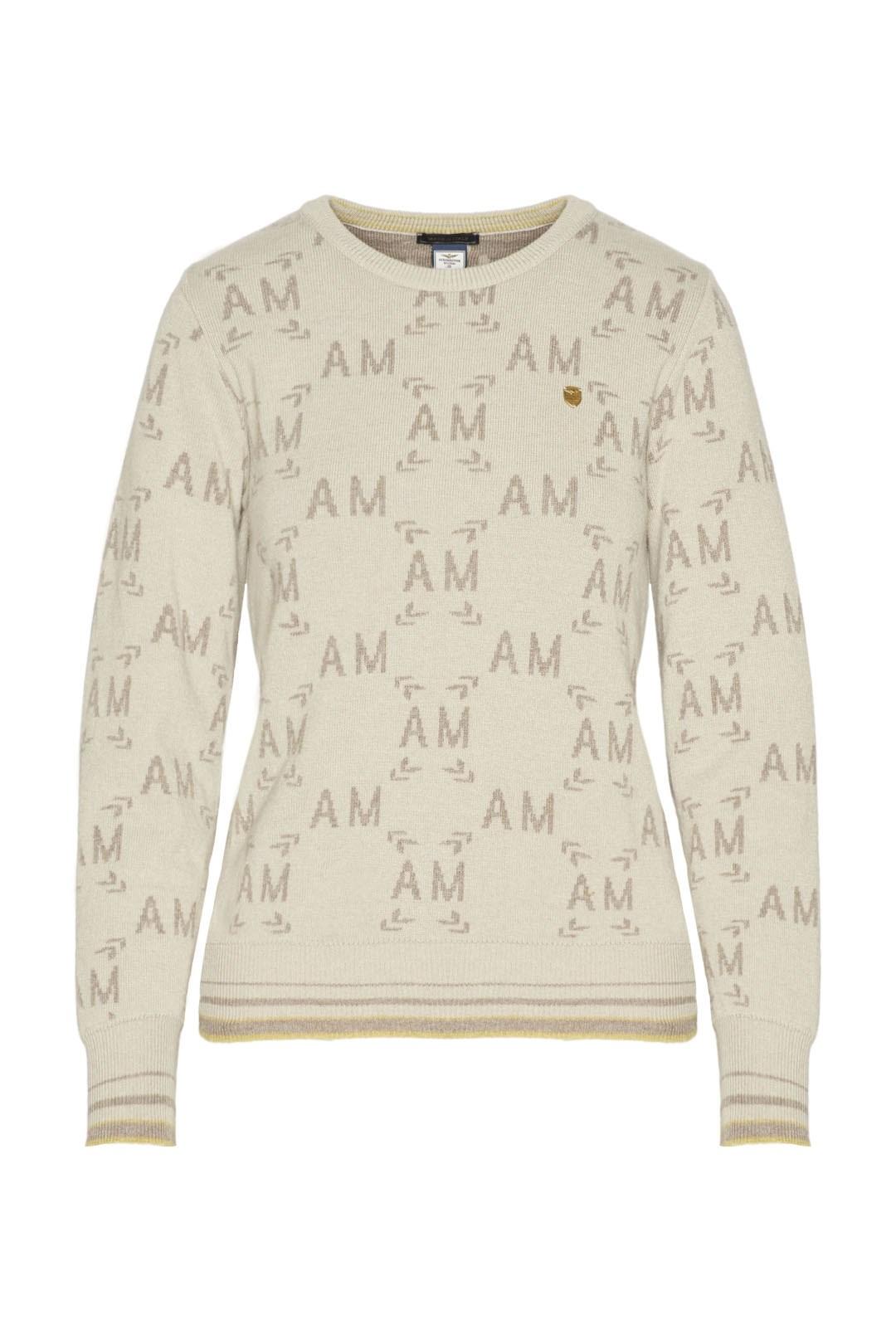 Cashmere blend logo sweater              1