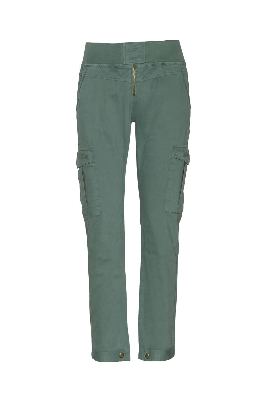 High waisted trousers with side pockets
