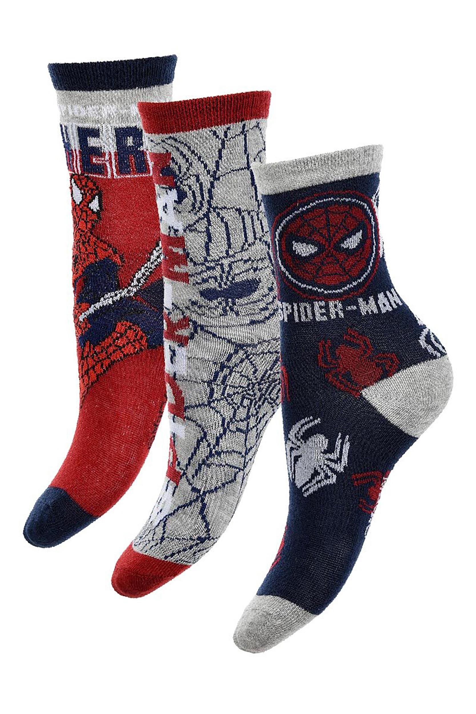 N. 6 Calzini Spiderman Bambino