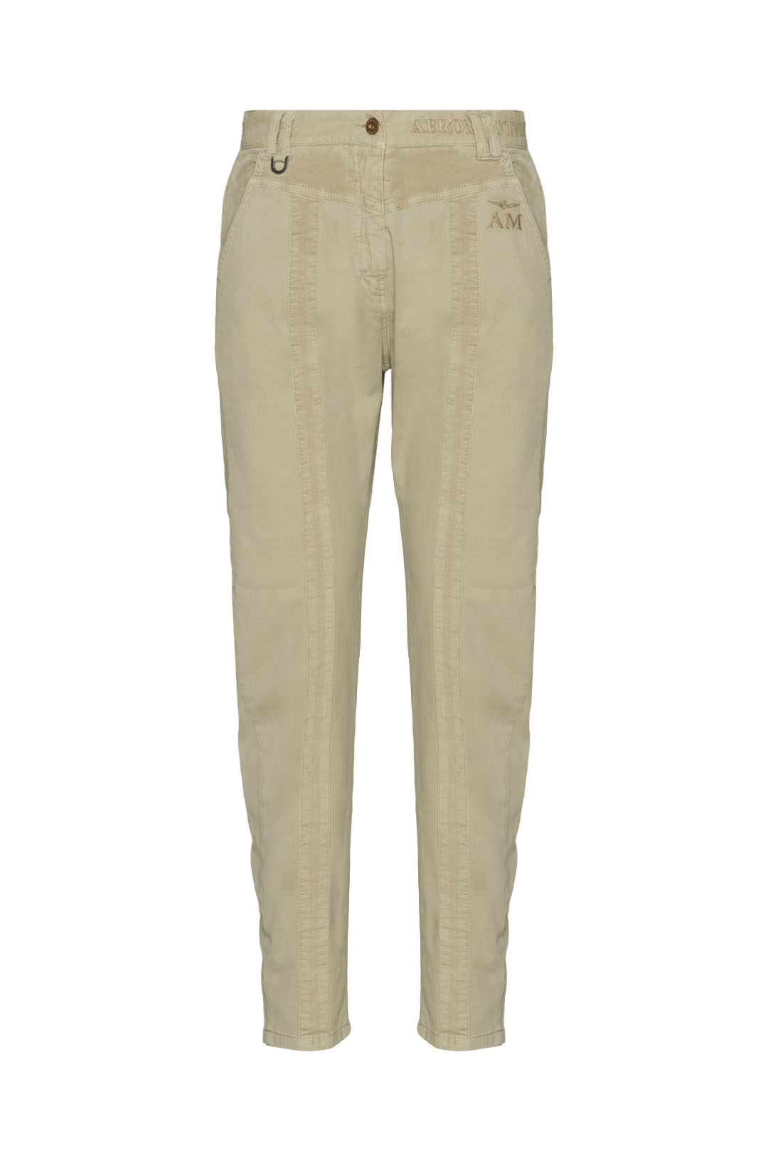 Trousers with velvet and ripstop details 1