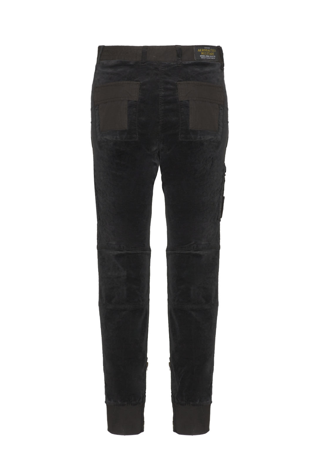 Iconic velvet and ripstop Anti-G pants   2
