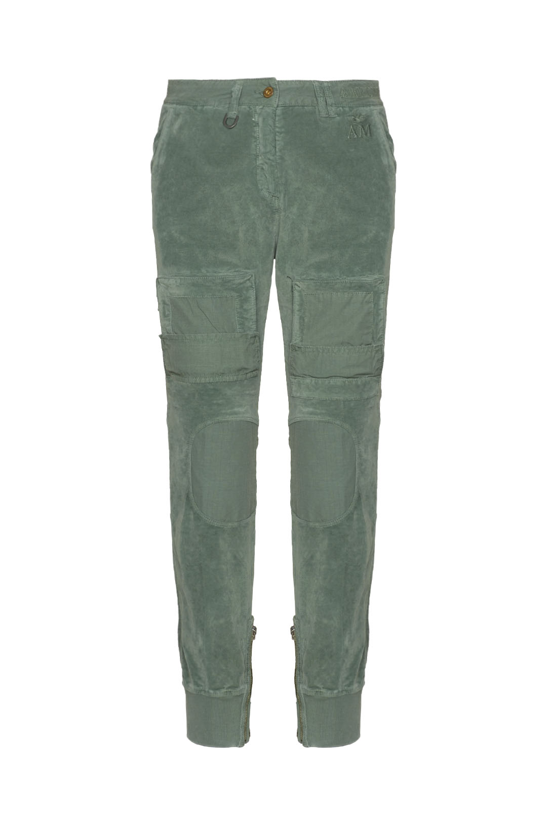 Iconic velvet and ripstop Anti-G pants   1