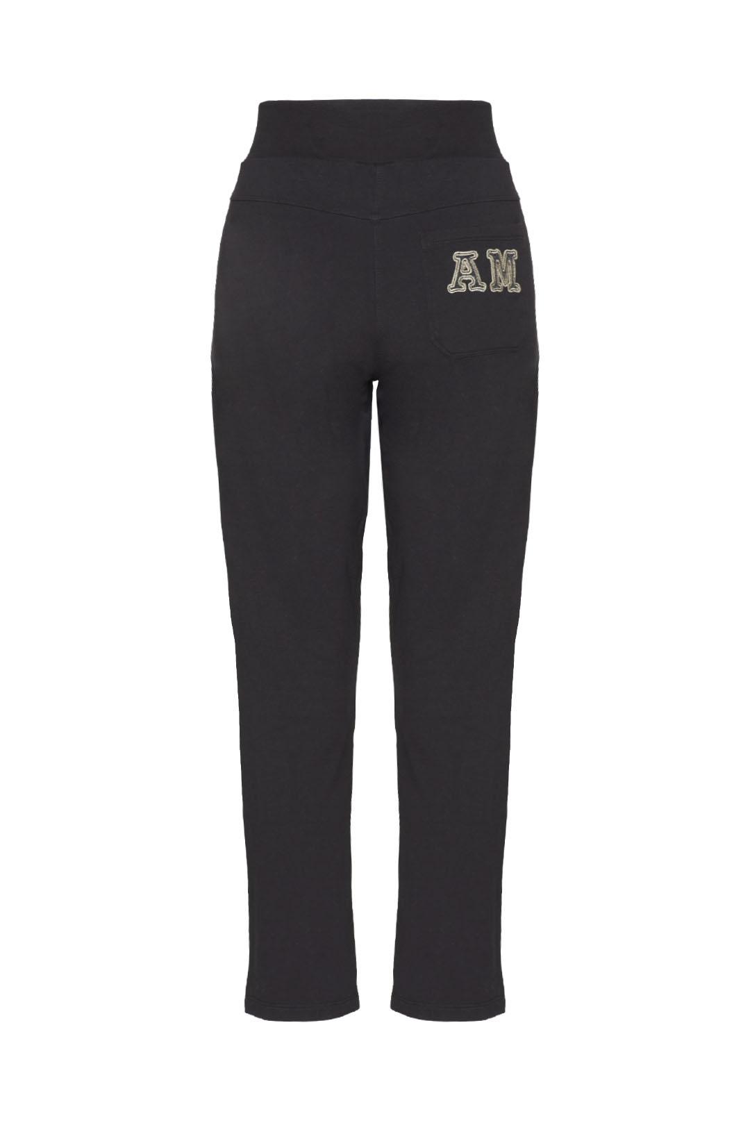 High-waisted stretch cotton sweatpants   2