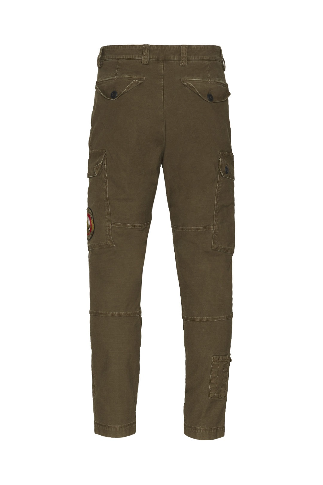Multi-pockets trousers in stretch cotton 2