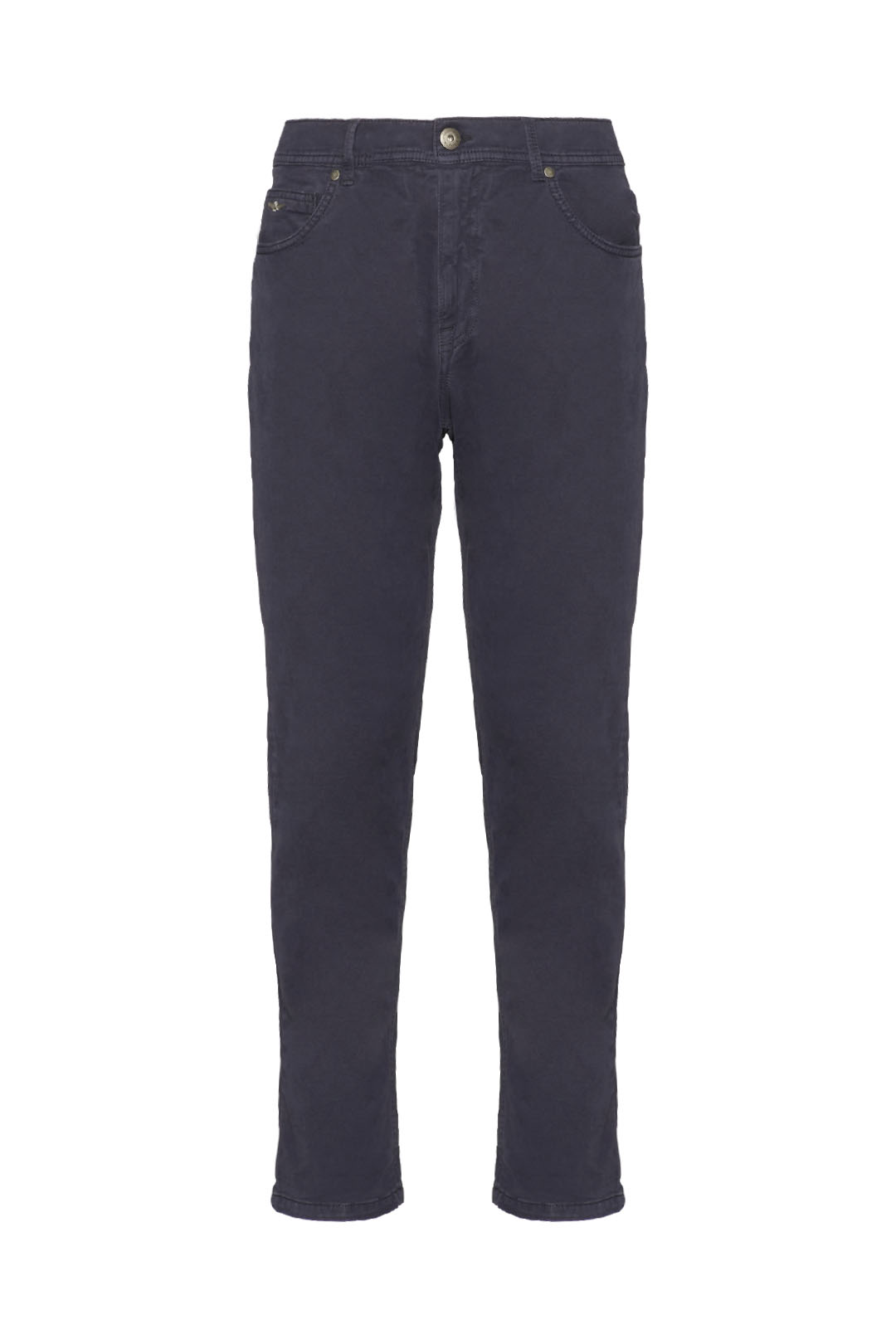Dyed 5-pockets stretch trousers          1
