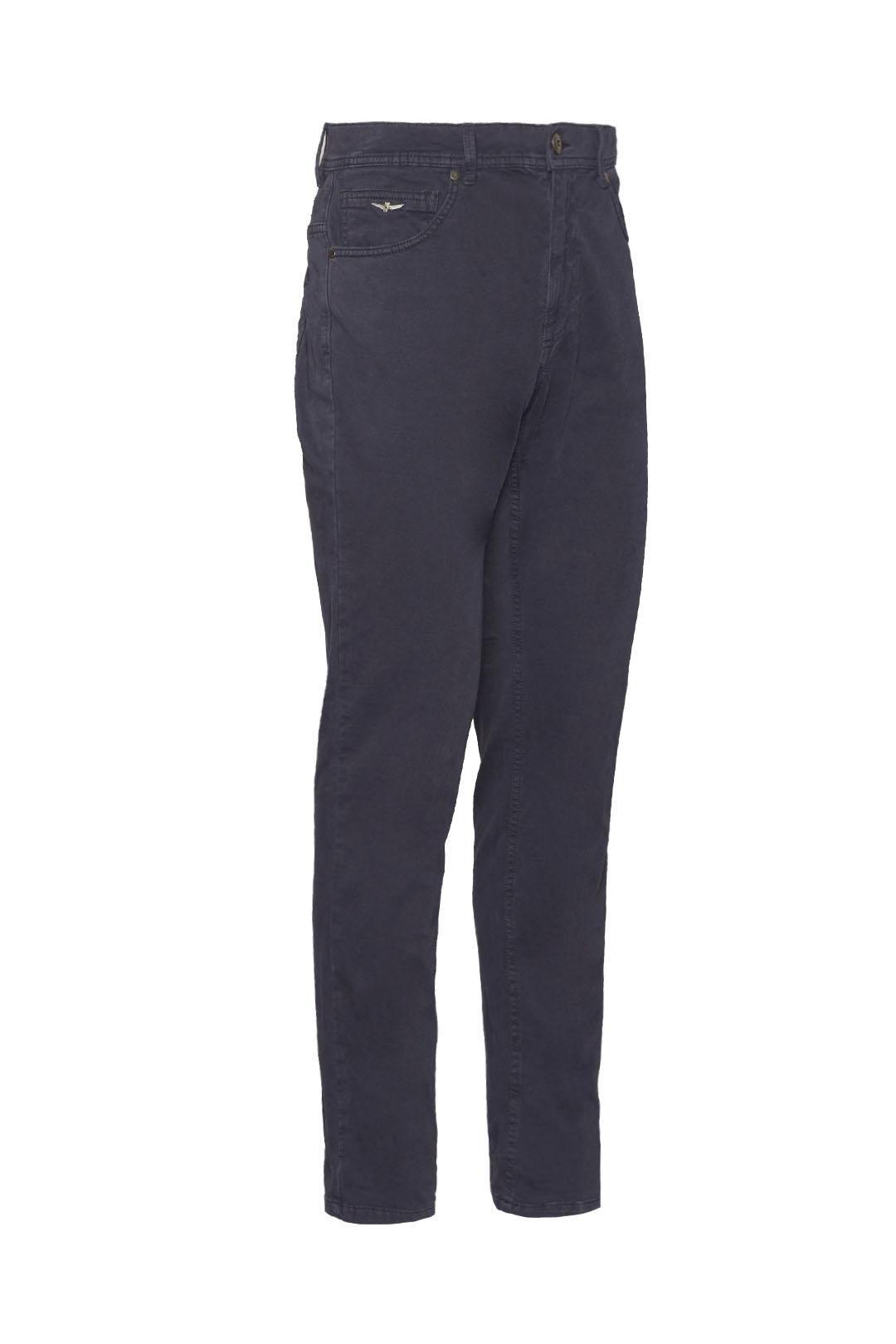 Dyed 5-pockets stretch trousers          3