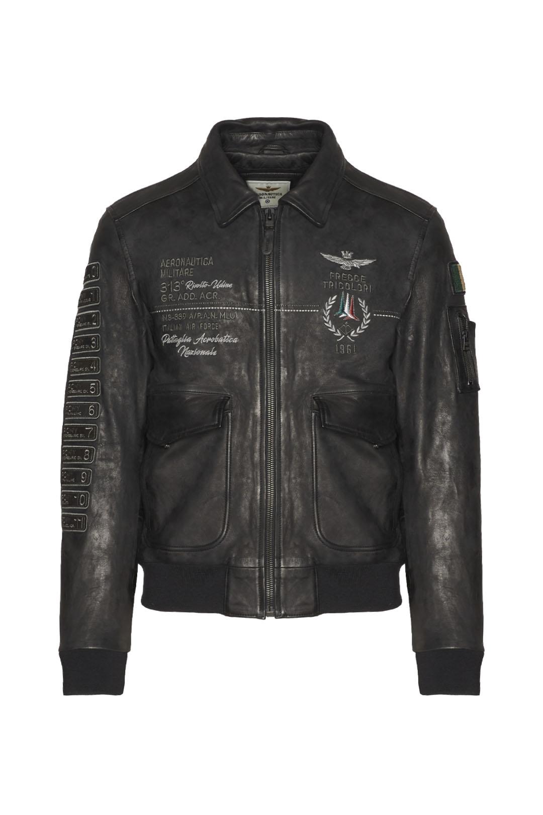 Frecce Tricolori leather jacket          1