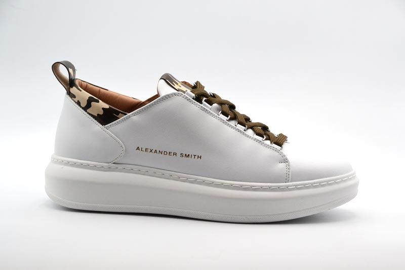NOVITA' A/I 2021 Alexander Smith Calzatura Donna-White/Sand E113211