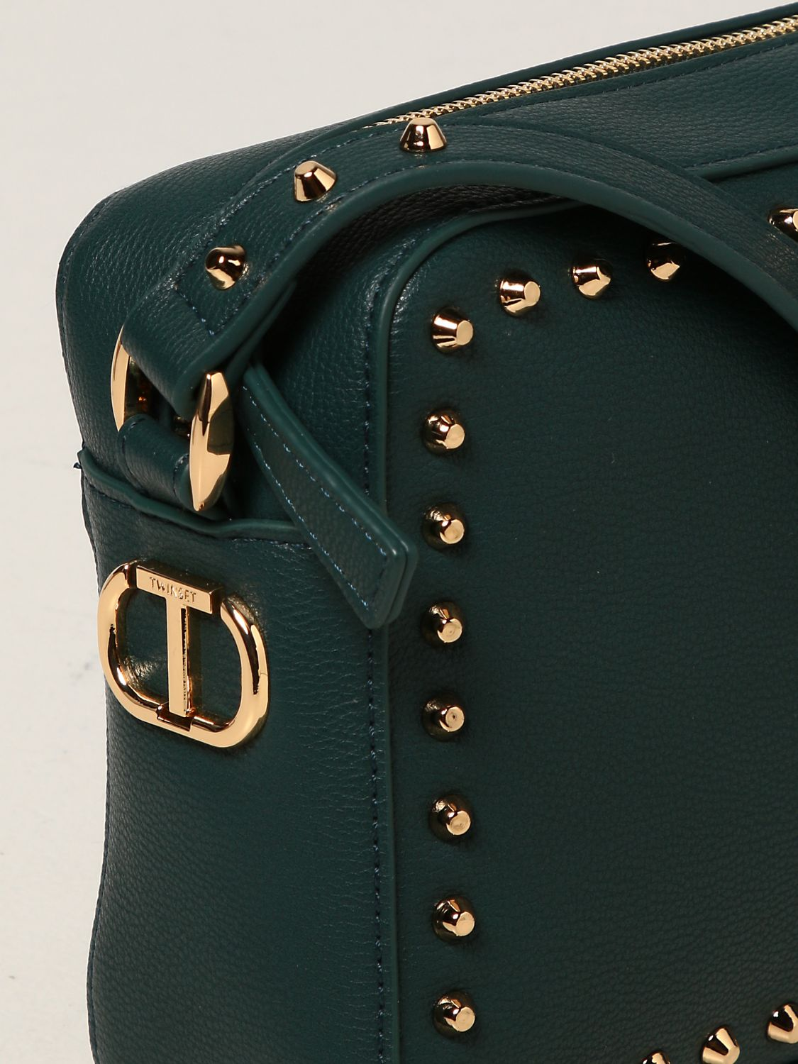 SHOPPING ON LINE TWINSET MILANO BORSA A TRACOLLA CON BORCHIE NEW COLLECTION PREVIEW FALL WINTER 2022