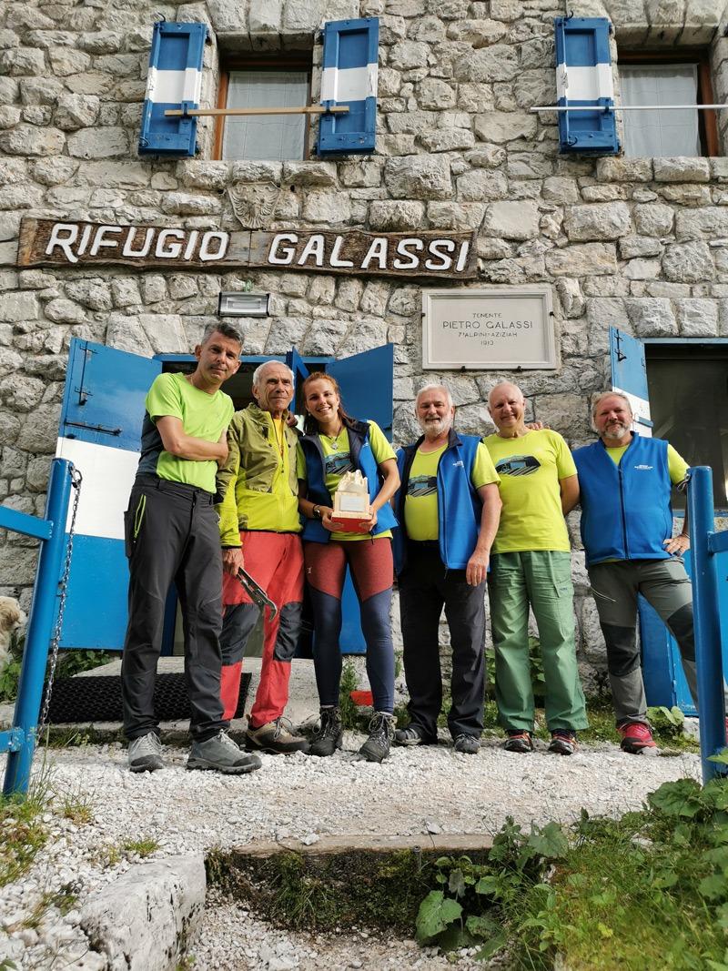 volontari del rifugio Galassi Città di Mestre