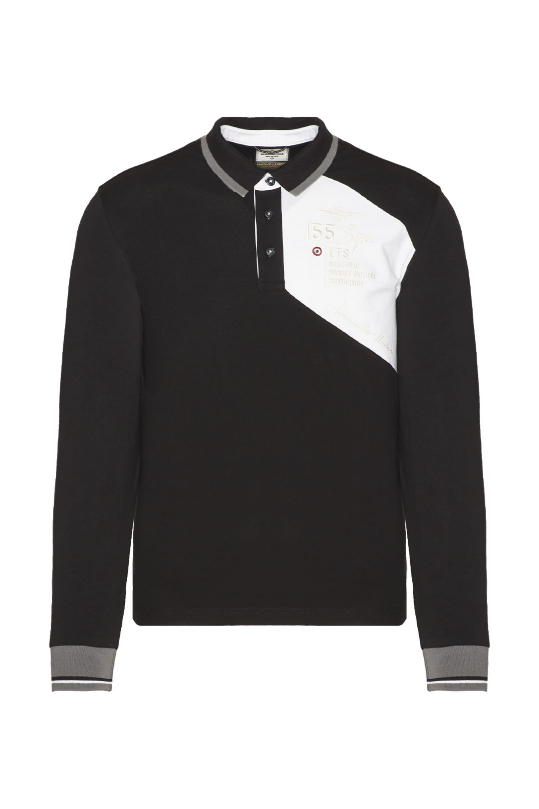 Polo Pantere Nere avec broderies         1