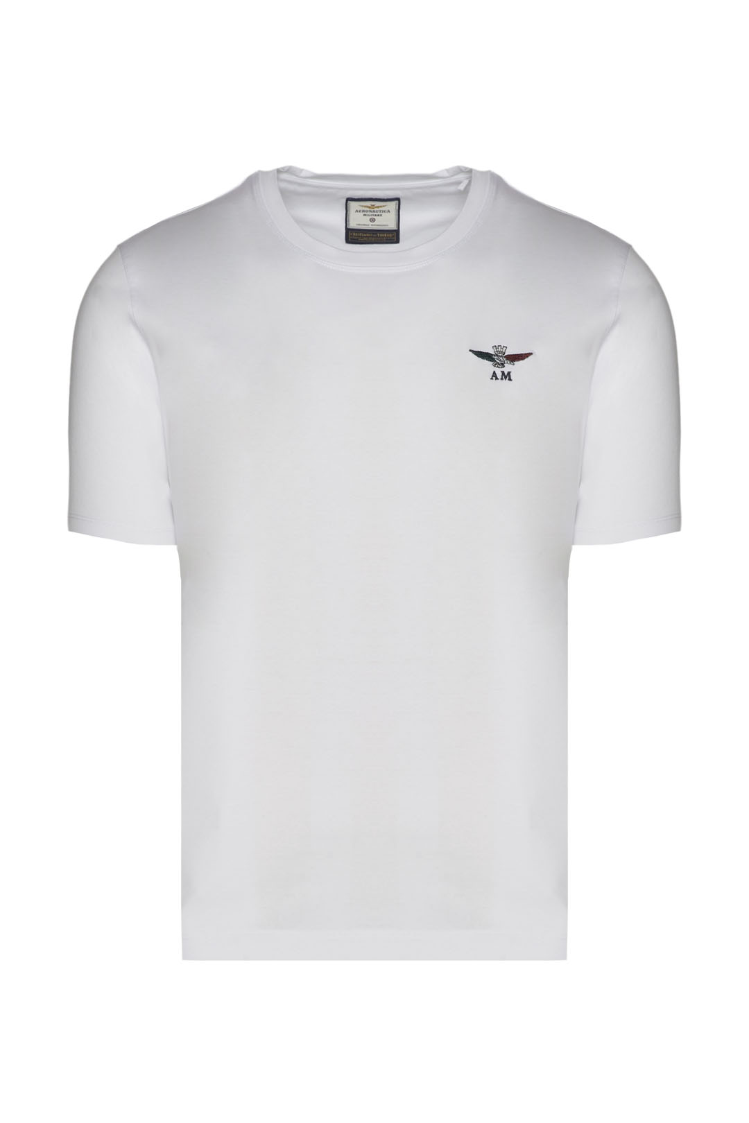Mercerized t-shirt with tricolor eagle   1