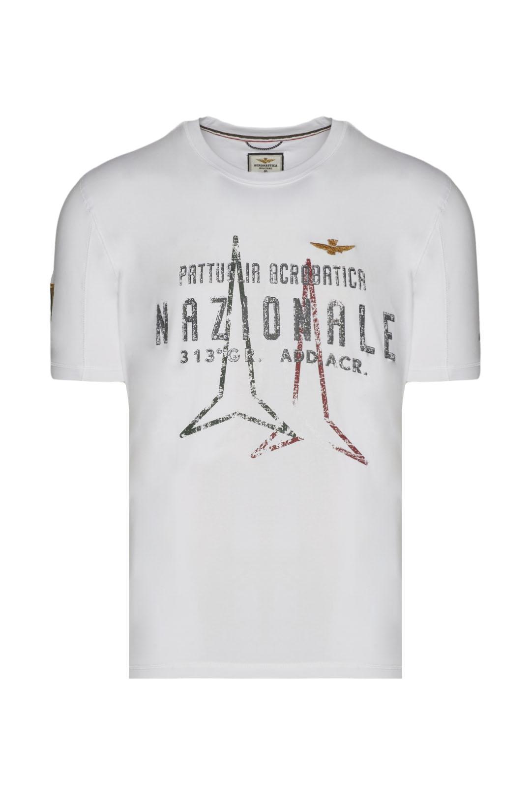 Frecce Tricolori printed t-shirt