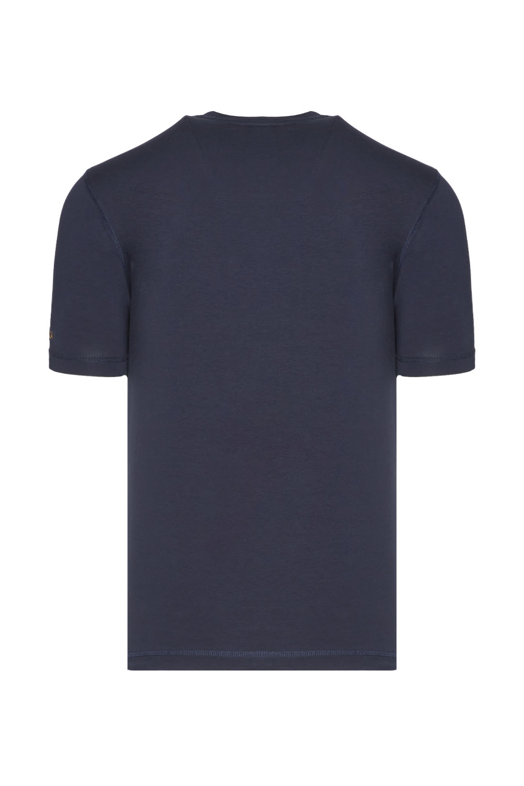 T-shirt with tricolor embroidery         2