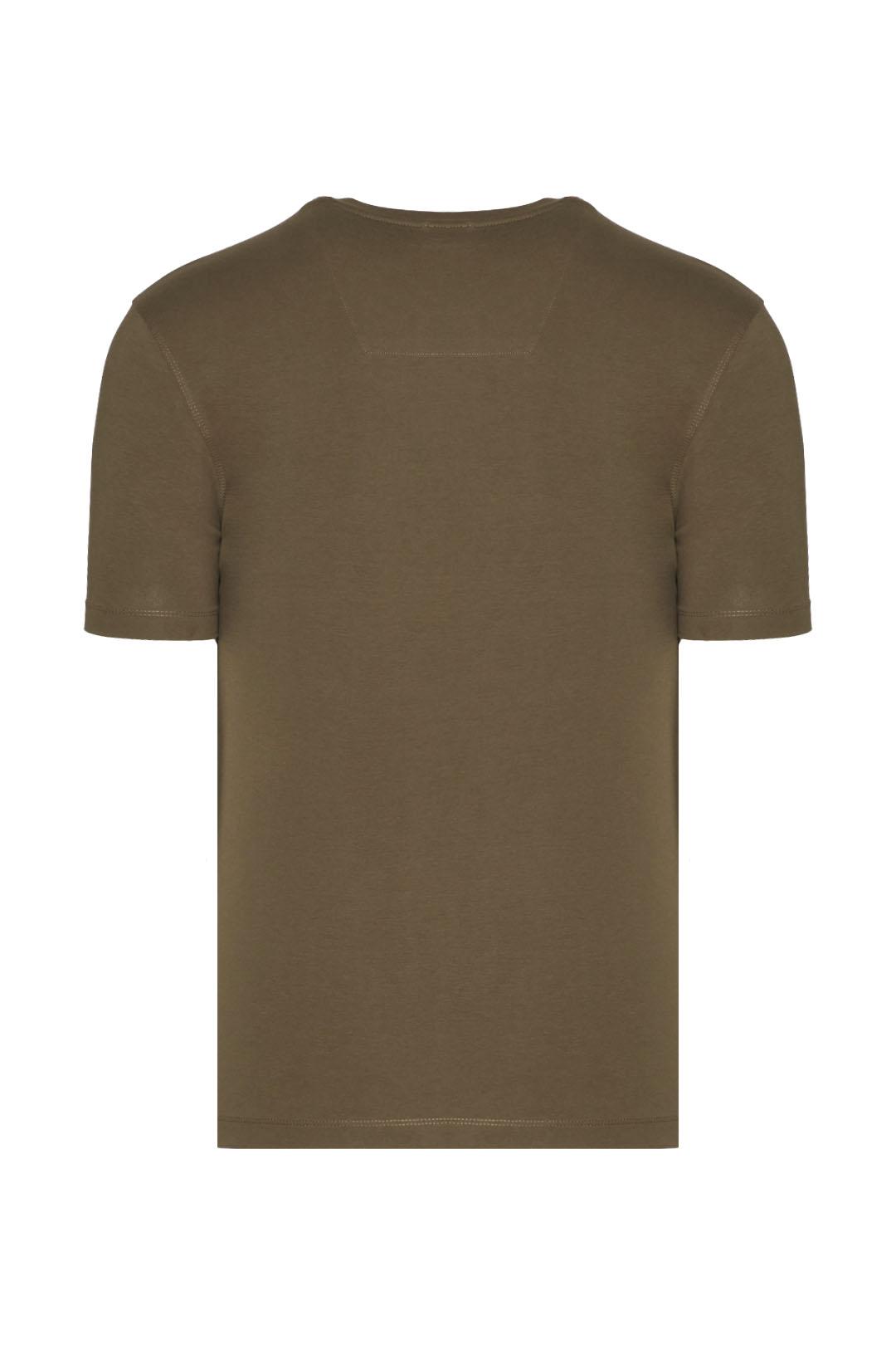 Basic crewneck cotton t-shirt            2