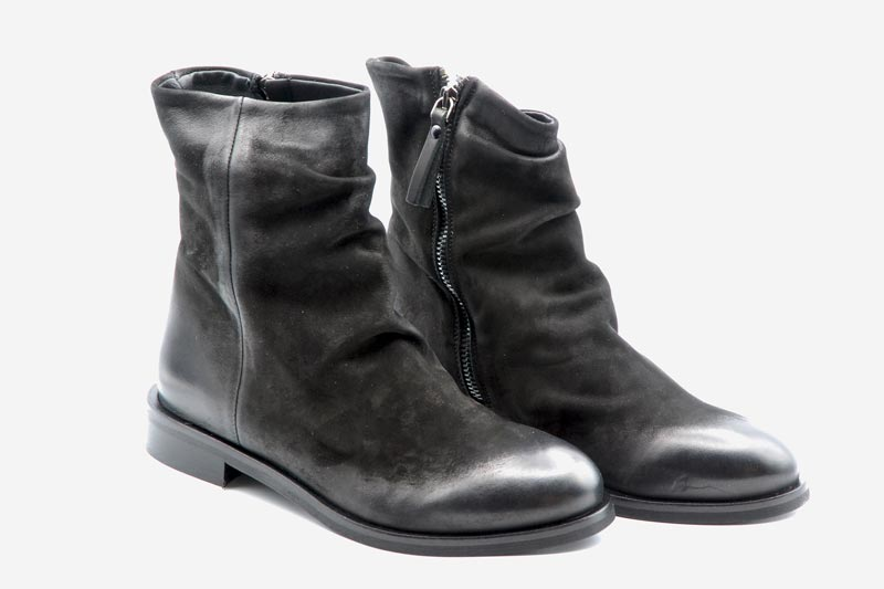 Novità A/I 2021 Metisse Calzatura Donna-Nabuck Nero TR54