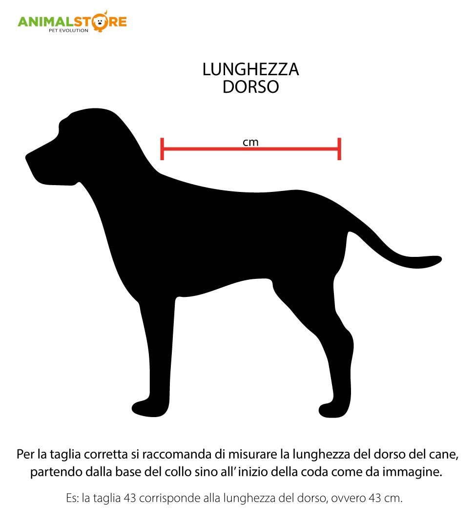 Fashion Dog - Cappotto Impermeabile Trapuntato - Taglia 27