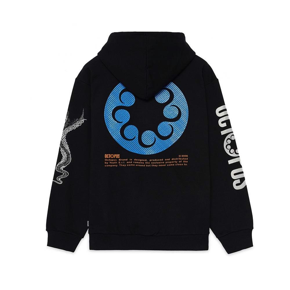 OCTOPUS Hoodie Logo Black