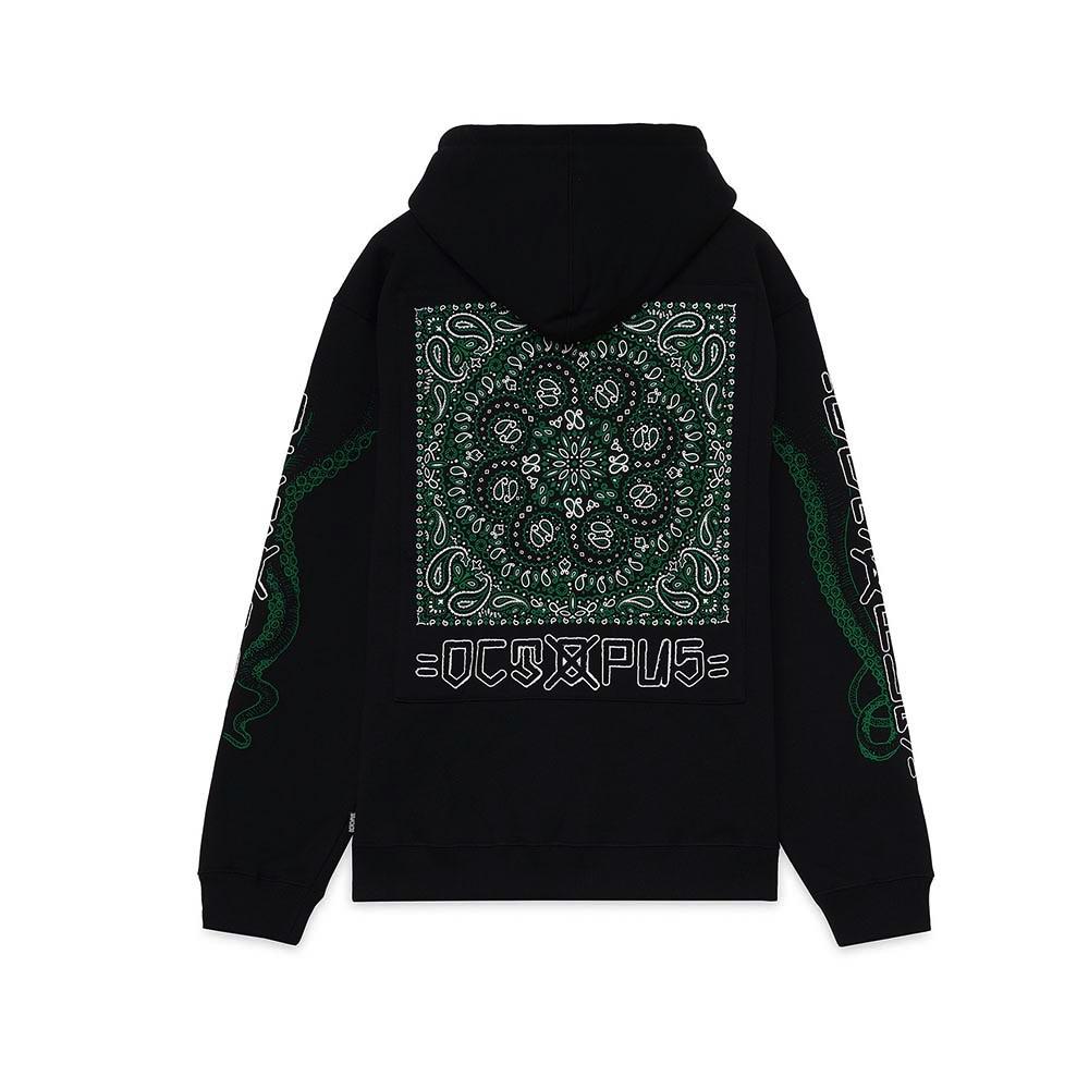 OCTOPUS Hoodie Bandana Logo Black
