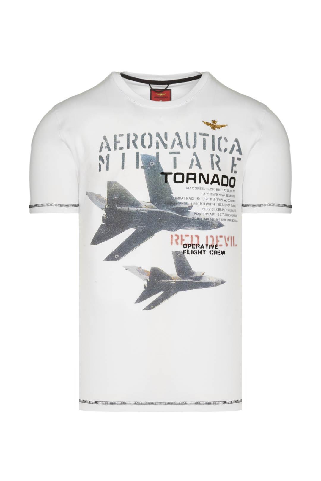 T-shirt Tornado con cuciture a contrasto 1