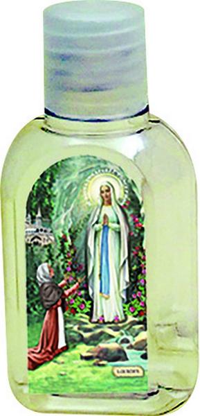 600 bottiglietta plastica 50 ml. Madonna di Lourdes