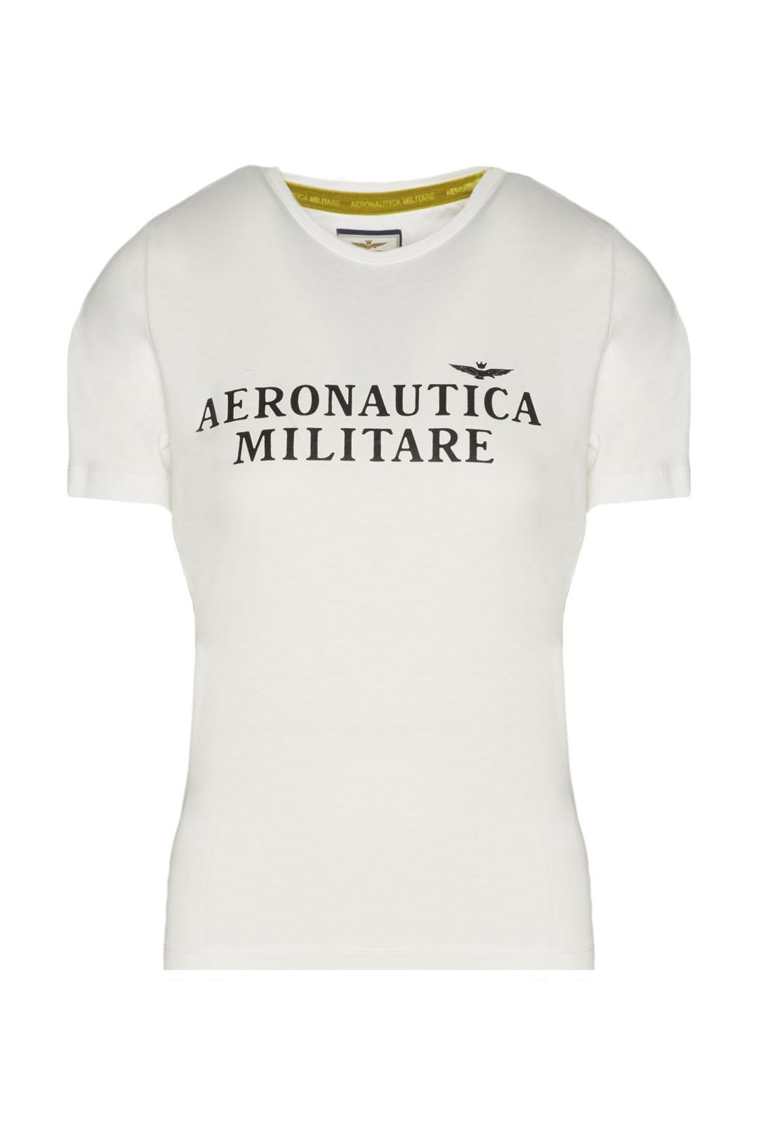 T-Shirt aus Stretch Baumwolle            1