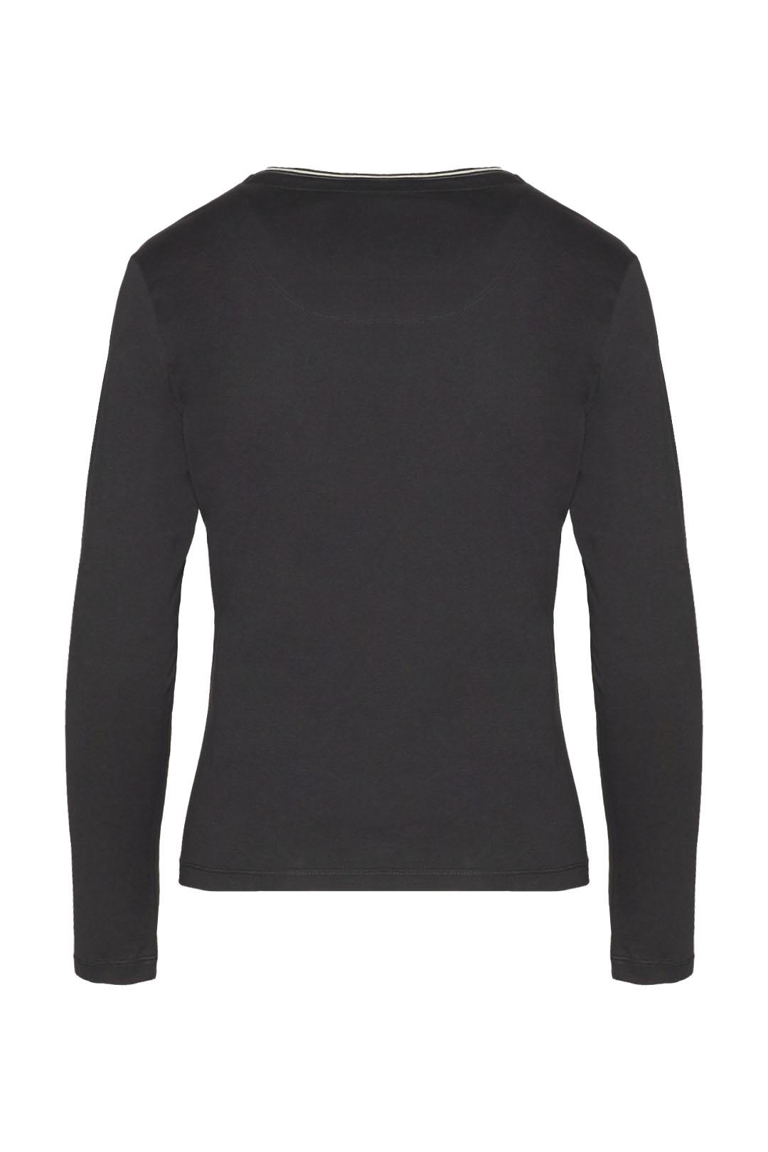 Long sleeve t-shirt with rhinestones     2