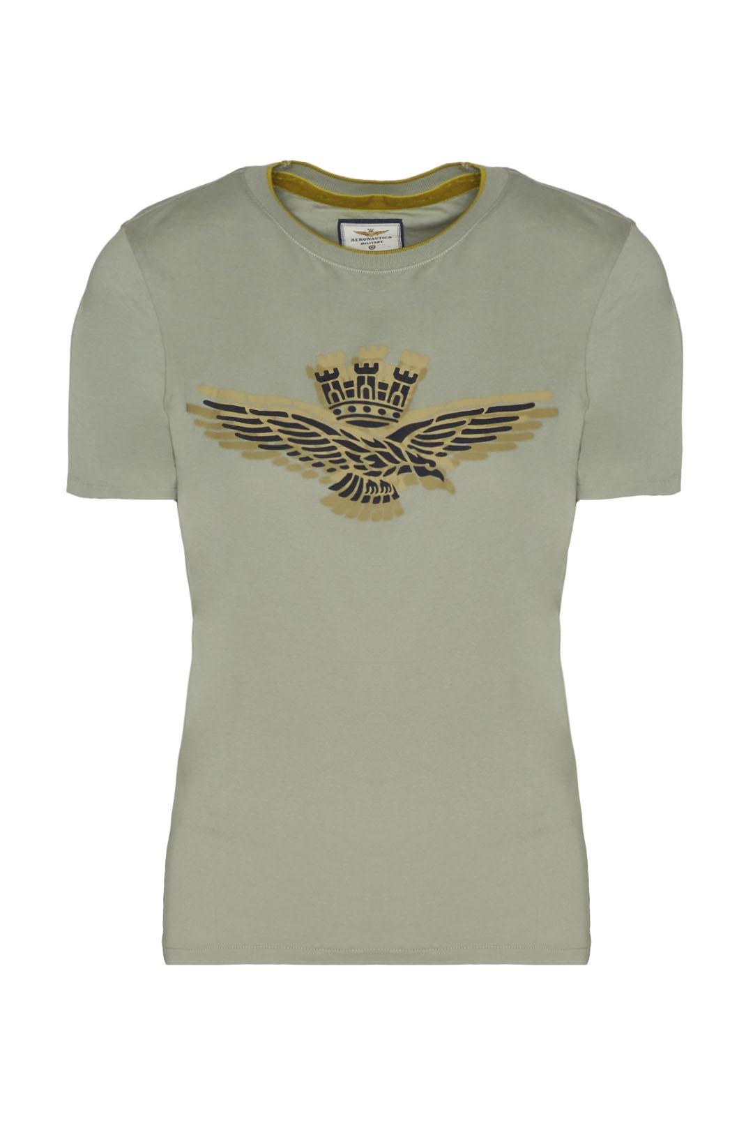 Short-sleeved printed cotton t-shirt     1