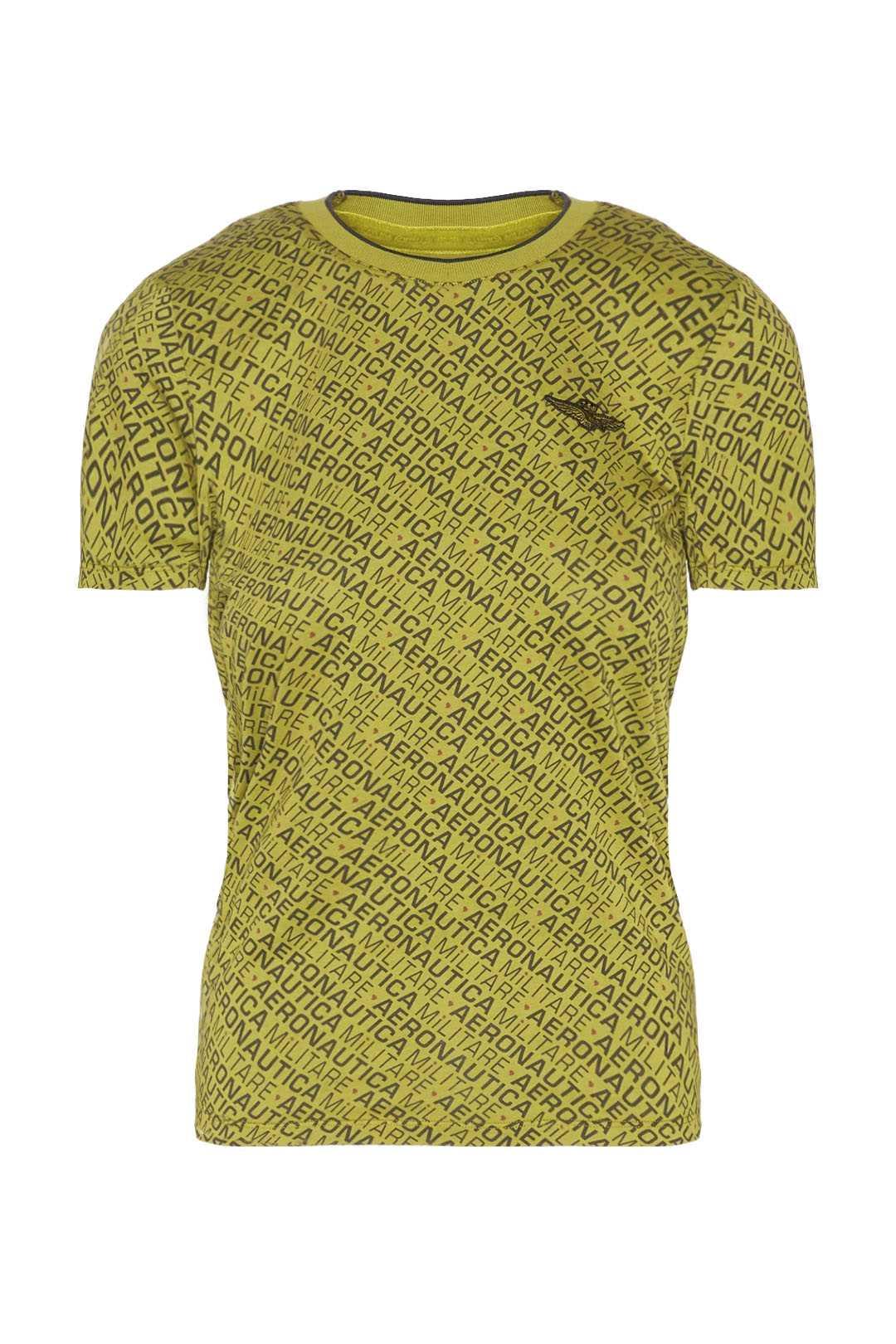 T-shirt col rond avec imprimé all over   1