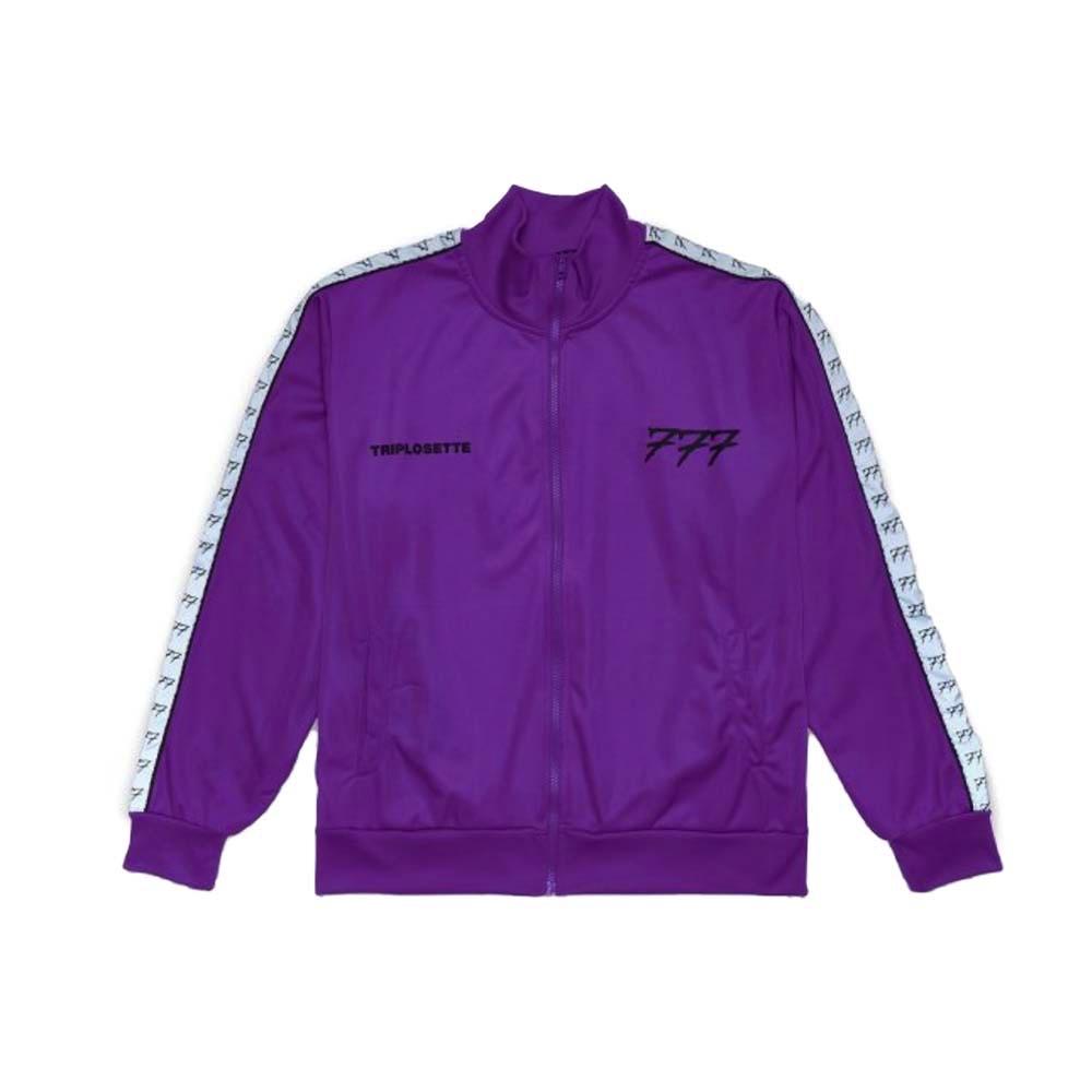 TRIPLOSETTEWEAR Track Jacket Purple