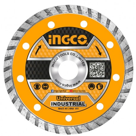 Disco Diamantato Turbo corona continua 230mm INGCO