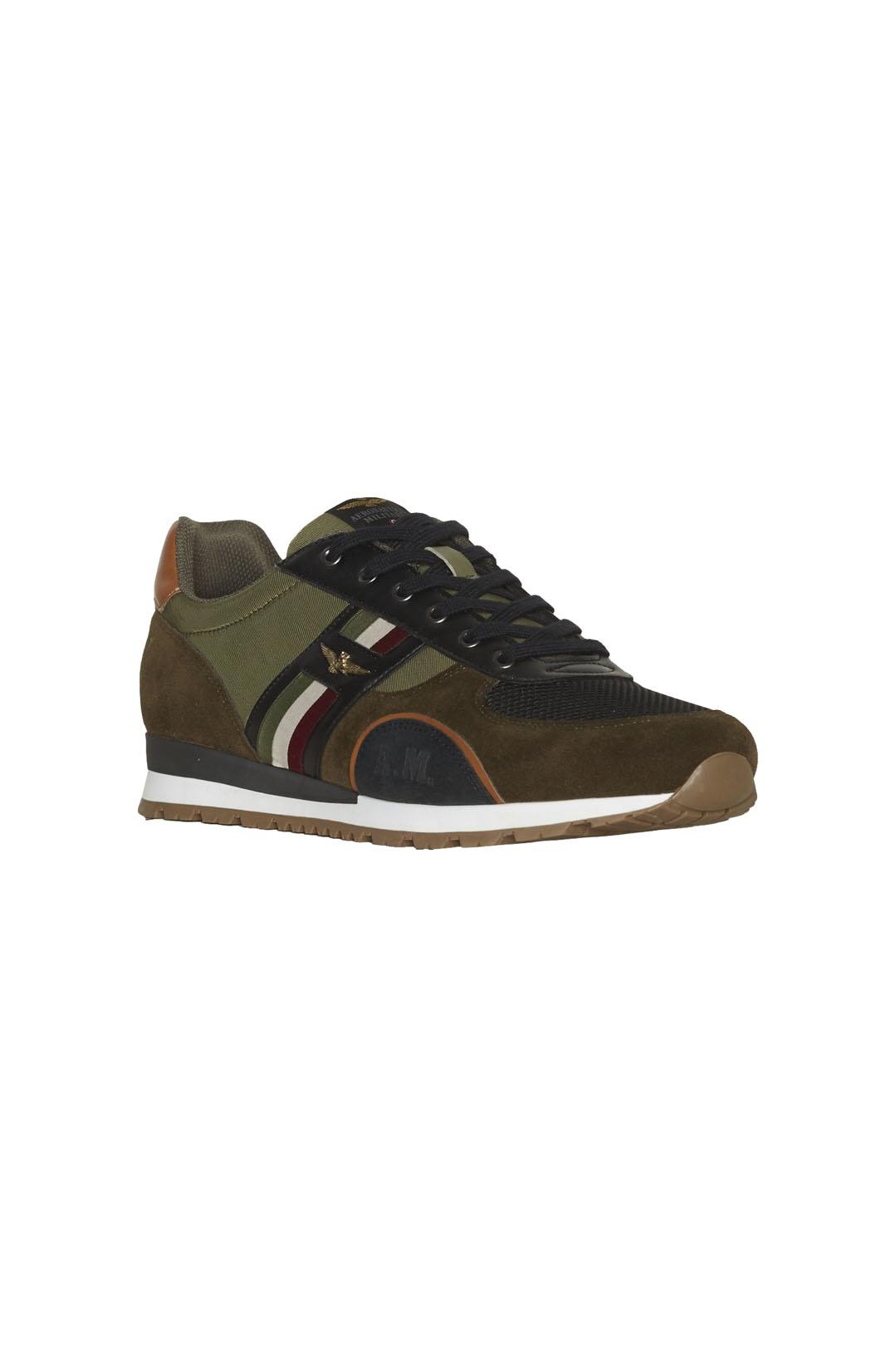 Sneakers avec tricolore