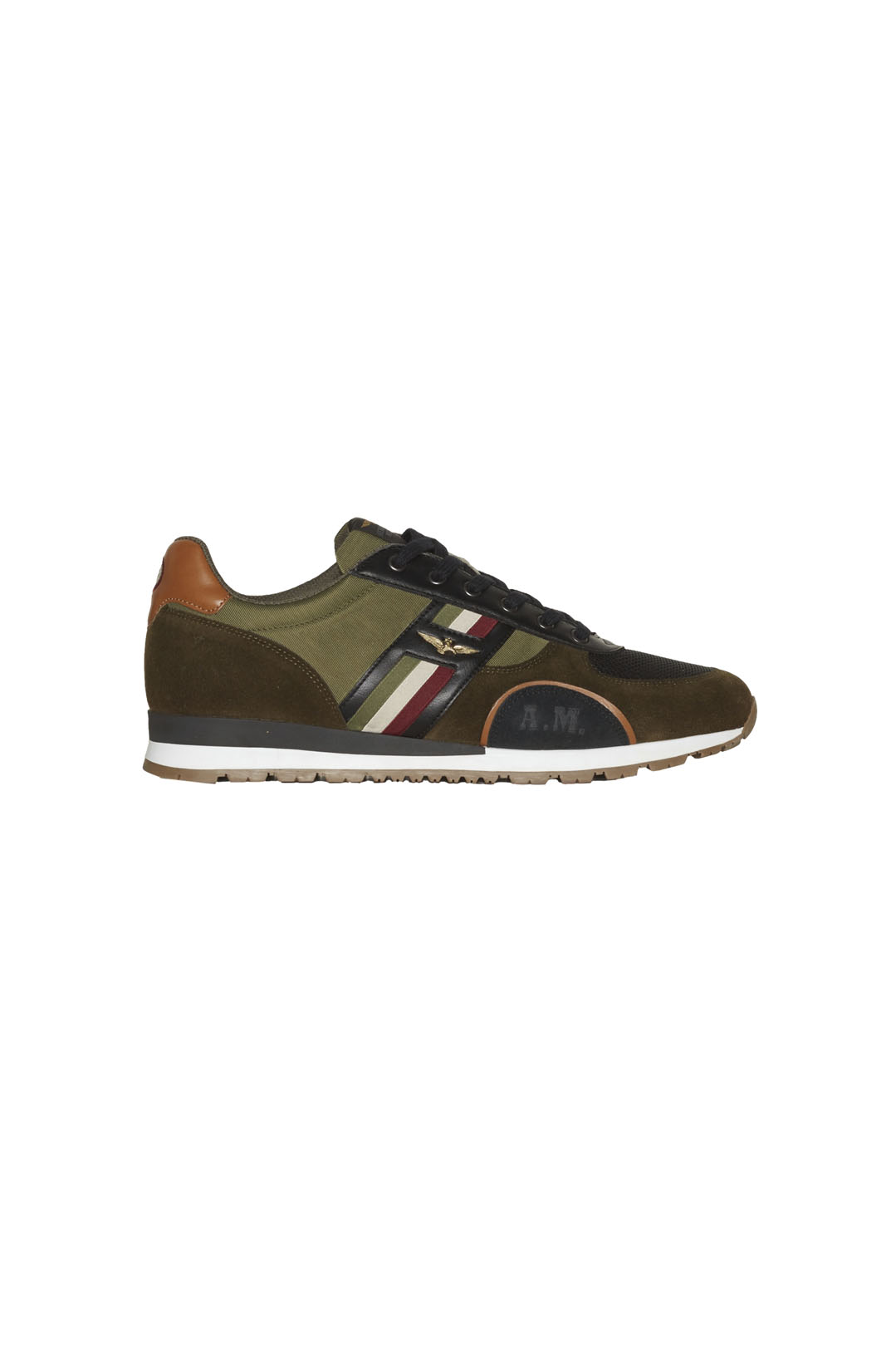 Sneakers mit Trikolor                    2