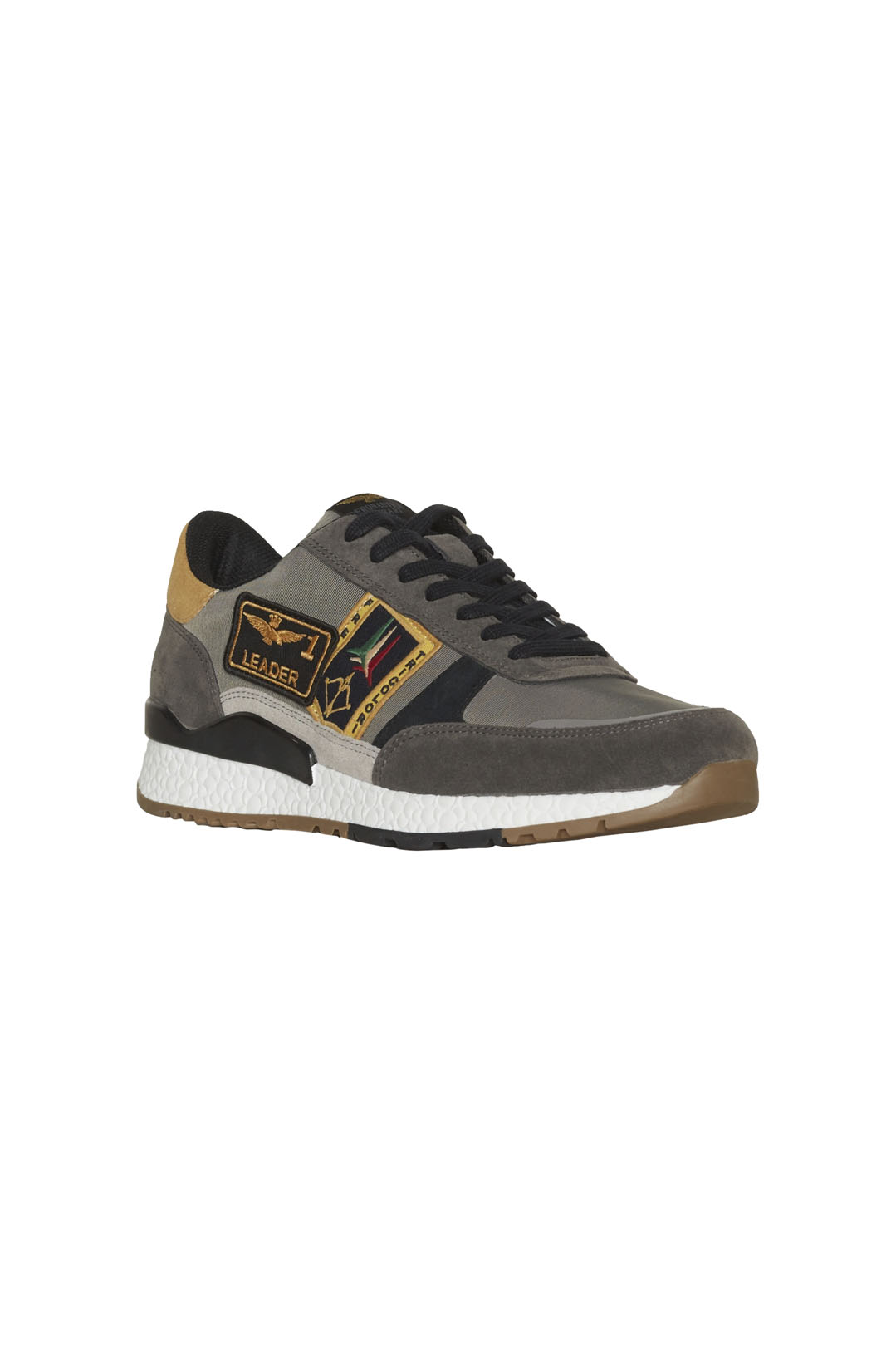 Frecce Tricolori sneakers with patches   1