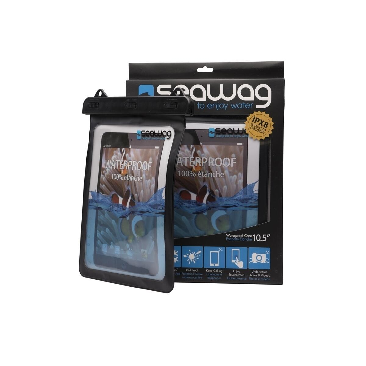 SEAWAG WATERPROOF CASE PER TABLETS BLACK 10.5''