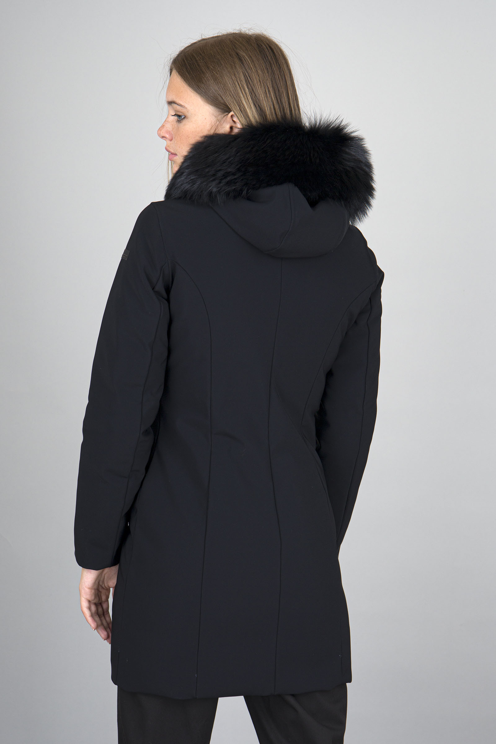 SHOPPING ON LINE RRD PIUMINO WINTER LONG LADY FUR NEW COLLECTION  WOMEN'S FALL/WINTER 2022