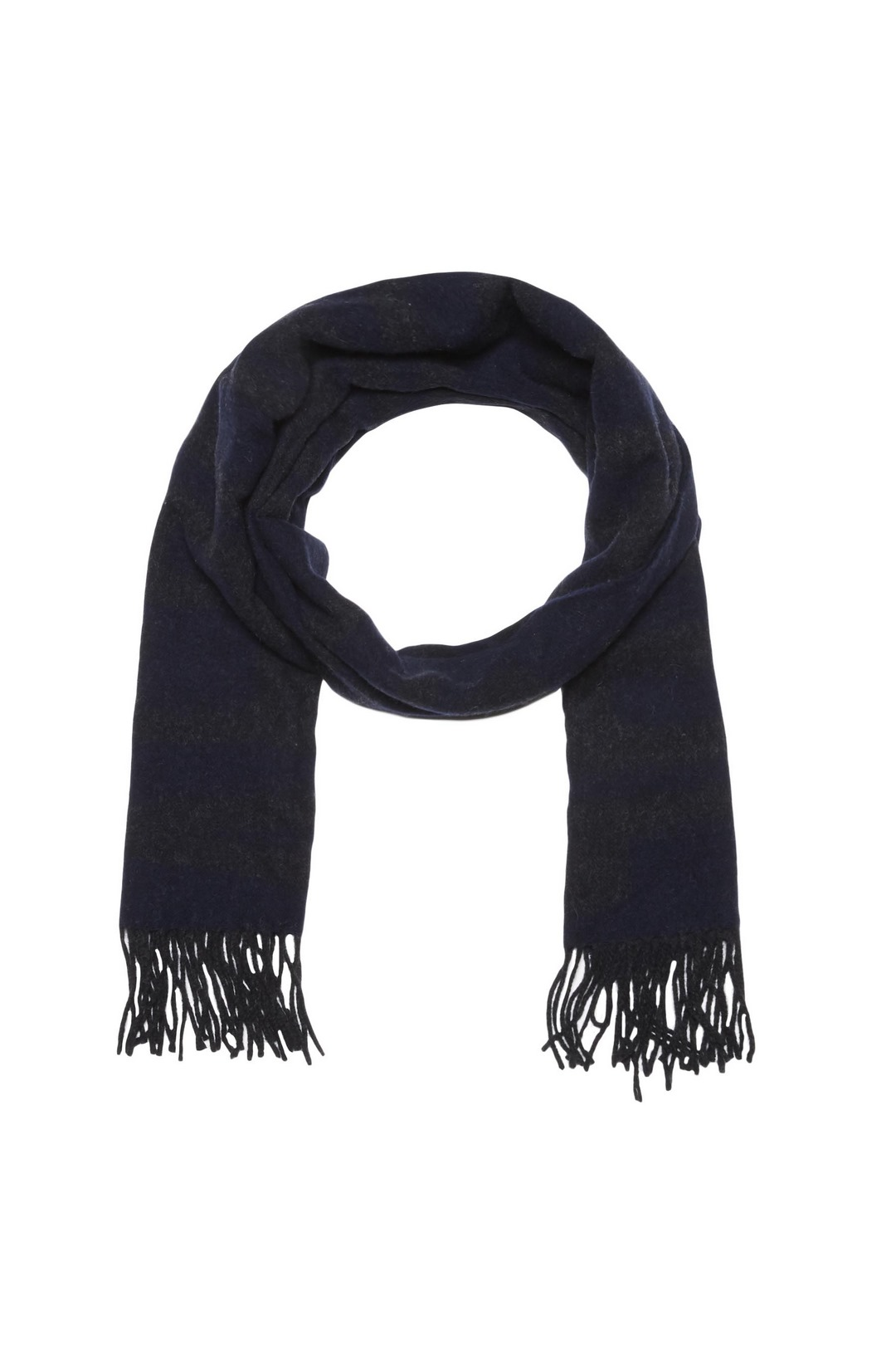Wool scarf with logo                     1