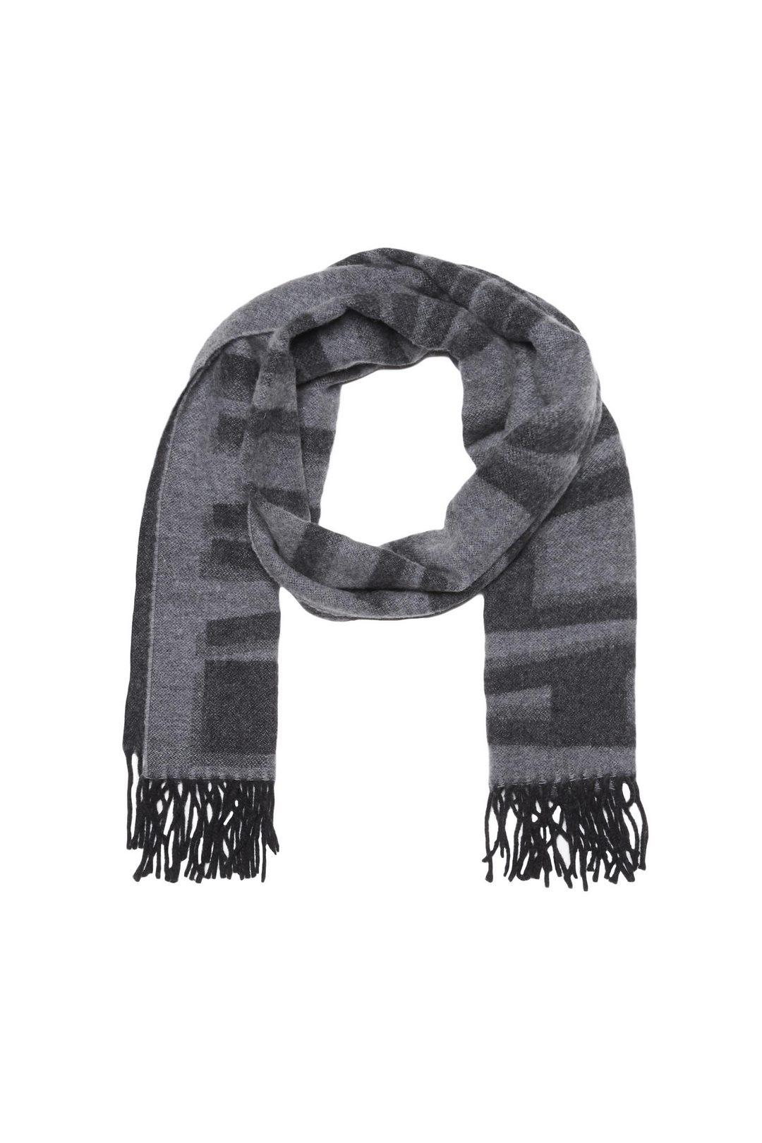 Écharpe en laine avec logo