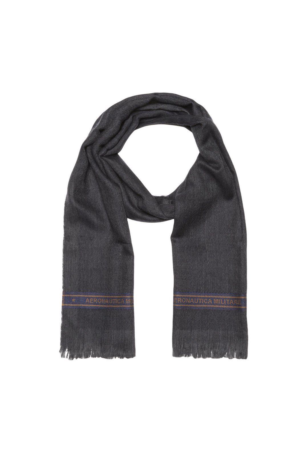Embroidered wool scarf                   1