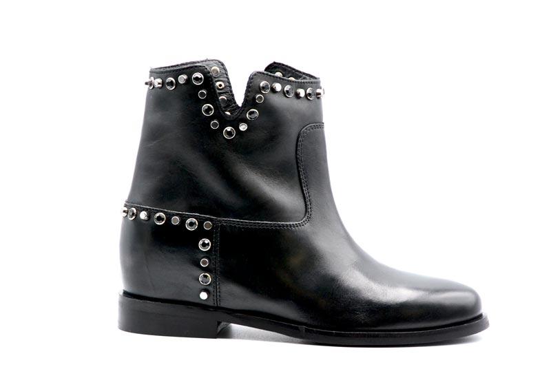 Novità A/I 2021 Woz Calzatura Donna-Vitello Nero 20129