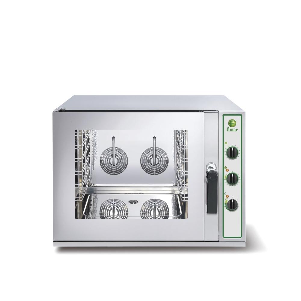 Forno Convezione Fimar TOP4M - 4 Teglie GN1/1 o 60x40 - Elettromeccanico - Vapore Diretto