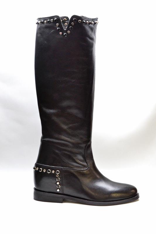 Novità A/I 2021 Woz Calzatura Donna-Vitello Nero 20138