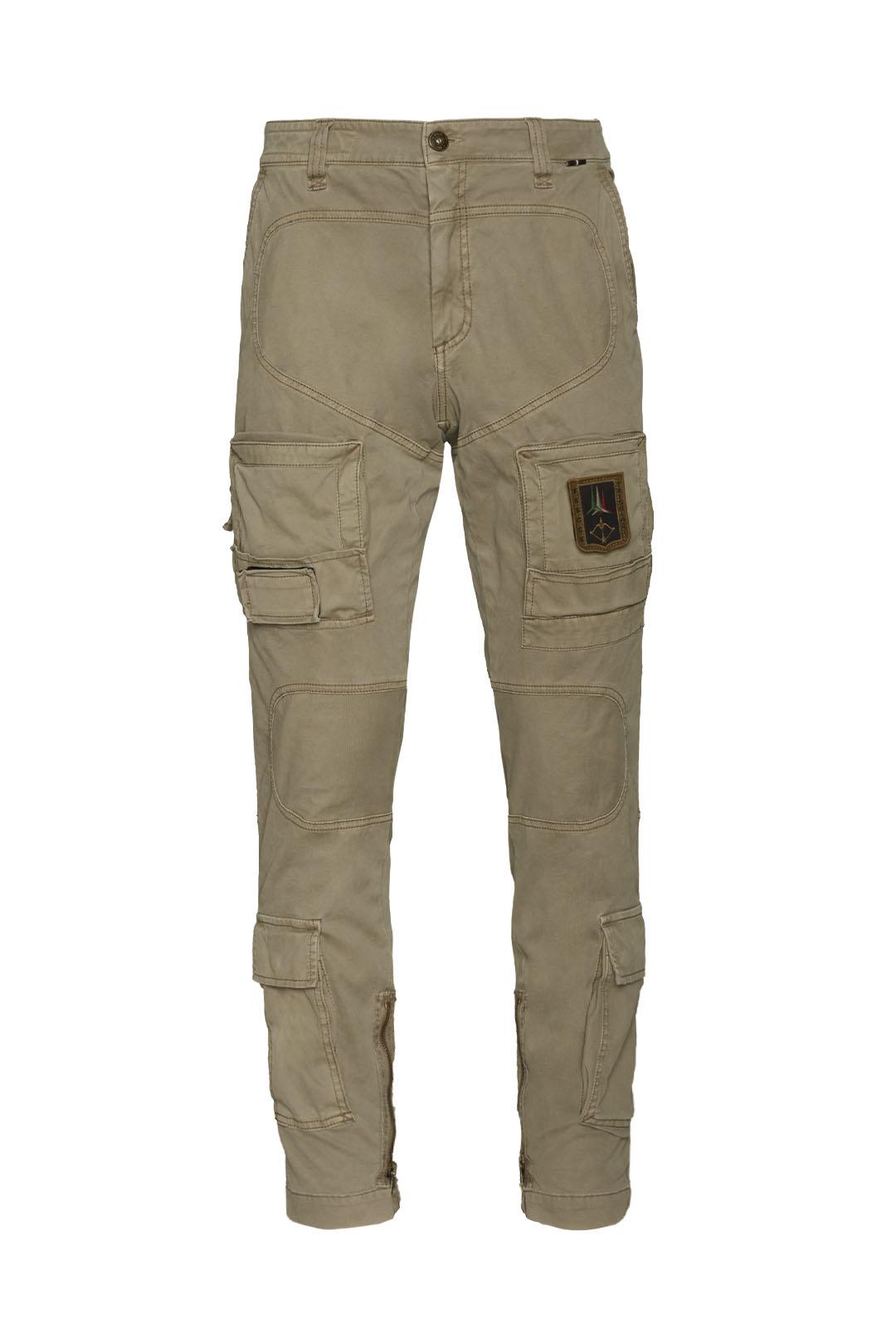 Iconic gabardine Anti-G trousers         1