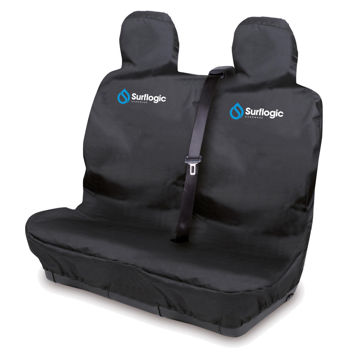 CAR SEAT COVER WATERPROOF DOUBLE BLACK