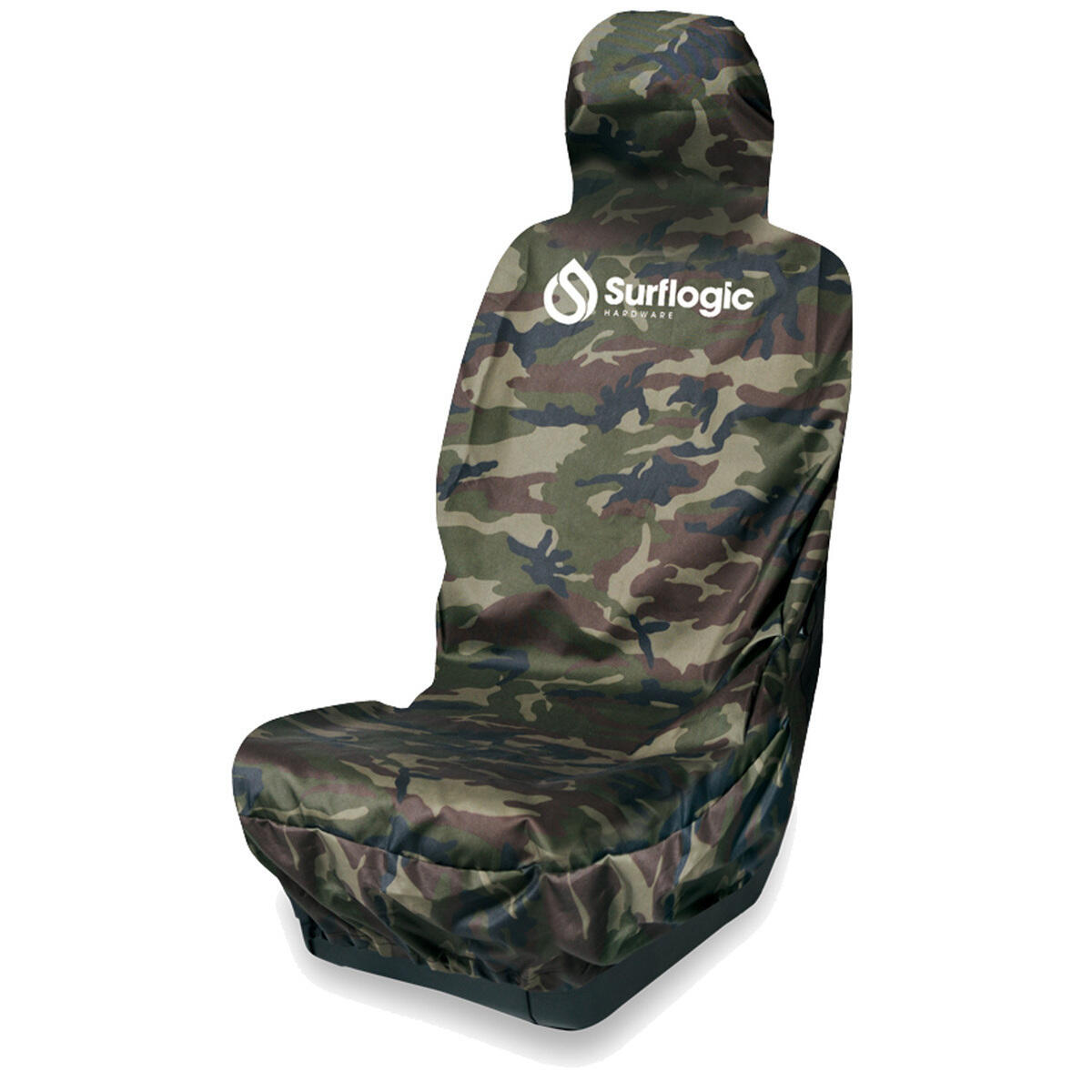 CAR SEAT COVER WATERPROOF SINGLE CAMOUFLAGE